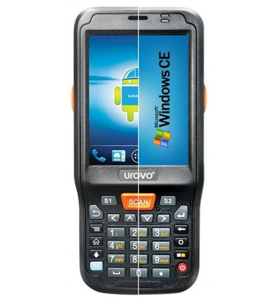 Терминал сбора данных Urovo i6100s / Android 4.3 / 2D Imager /Honeywell N3680 (hard decode) / GSM /2G/ 3G/ 5.0MP (camera)